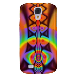 Between rainbows, modern abstract galaxy s4 case