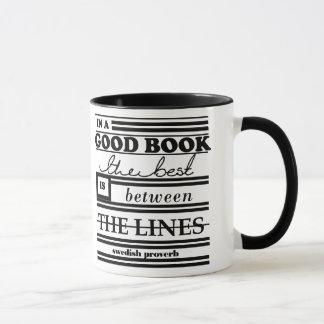 Between The Lines [Bookish Bits] Mug