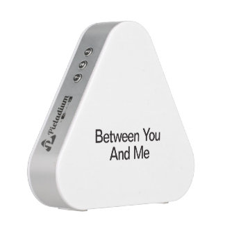 Between You And Me.ai Bluetooth Speaker