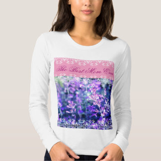 Beutiful lavender Mother's Day gift Tshirts