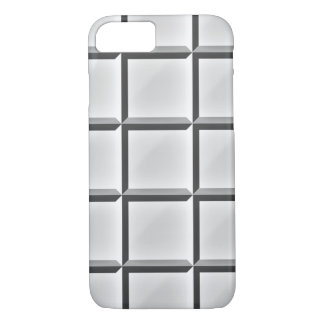 Beveled Square Black and White Pattern Iphone Case