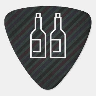 Beverage Drinks Minimal Guitar Pick