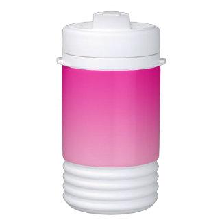 Beverage Holder: Pink Ombre Cooler