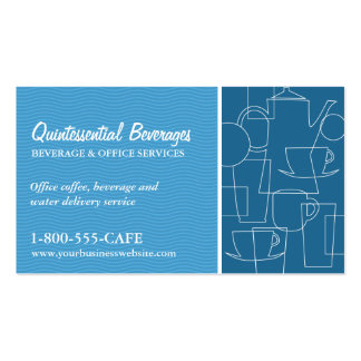 Beverage Services Business Card