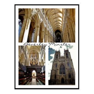 Beverley Minster [Postcard] v.3 Postcard