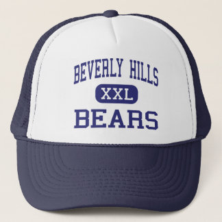 Beverly Hills Bears Middle Upper Darby Trucker Hat