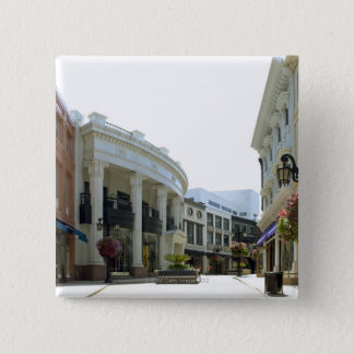 Beverly Hills, California 15 Cm Square Badge