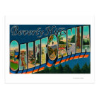 Beverly Hills, California - Large Letter Scenes Postcard
