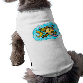 Beverly Hills Housewife Fish cute funny comics Dog Clothing