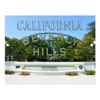 Beverly Hills Postcard! Postcard