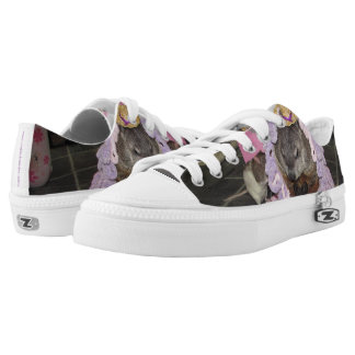 Bevin and Maude Pet Rat and Groundhog Shoe Printed Shoes