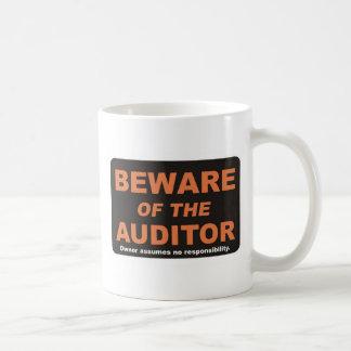 Beware / Auditor Coffee Mugs