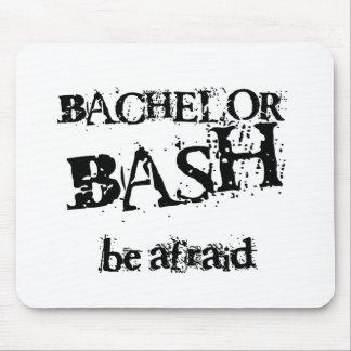 Beware Bachelor Bash Mouse Pad