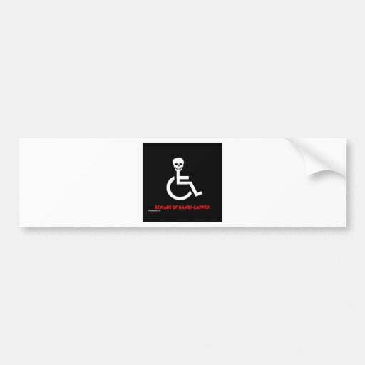 Beware Bumper Sticker
