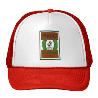BEWARE! Christmas Goose! Funny Holiday Hat