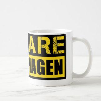 Beware Copenhagen Coffee Mug