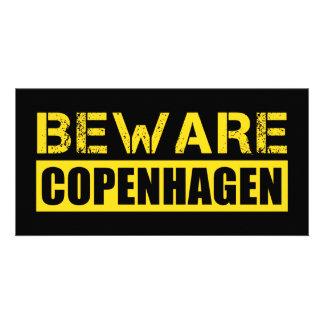 Beware Copenhagen Custom Photo Card