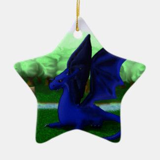 Beware, Dragons Christmas Ornament