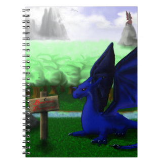 Beware, Dragons Notebook