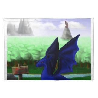 Beware, Dragons Placemat