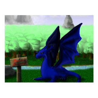 Beware, Dragons Postcard