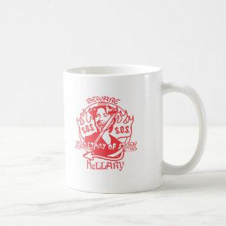Beware Hillary SOS Gear Coffee Mugs