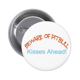 Beware kisses ahead button