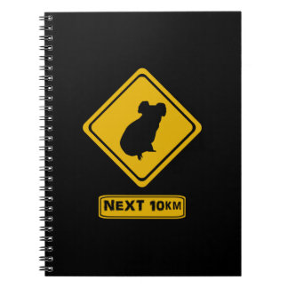 beware koalas note books