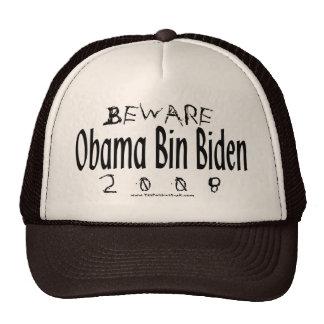 Beware Obama Bin Biden Trucker Hat