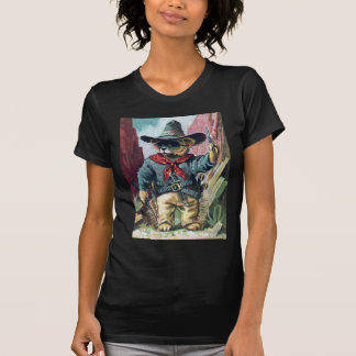 Beware of Bandit Bear with Bandana T Shirt