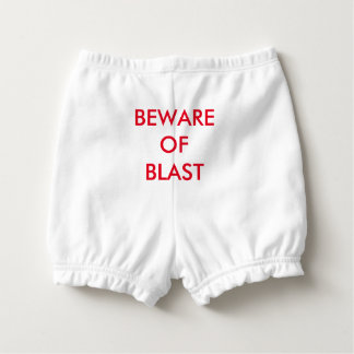 Beware of blast diaper cover nappy cover