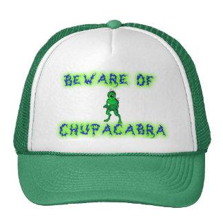 Beware of Chupacabra Cap