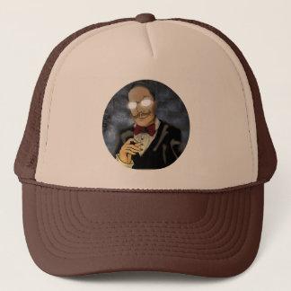 Beware of Darkness Round Logo Trucker Hat
