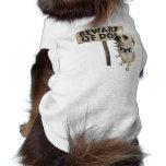 Beware of dog xs dog t-shirt