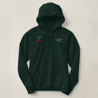 Beware of Dragons Embroidered Hoodie
