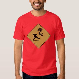 Beware of Dragons T Shirts