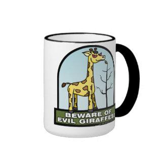 Beware of Evil Giraffes Mug