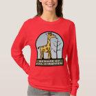 Beware of Evil Giraffes Shirt 1