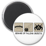 Beware of Falling Objects Magnet