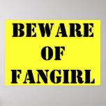 Beware of Fangirl poster