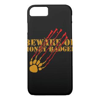 Beware of honey badger iPhone 7 case