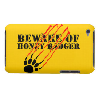 Beware of honey badger iPod touch cases