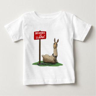 Beware of LLama! Baby T-Shirt