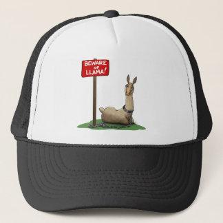 Beware of LLama! Trucker Hat