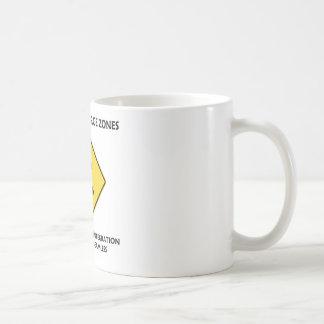 Beware Of Merge Zones Organizational Integration Basic White Mug