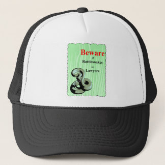 Beware of Rattlesnakes Trucker Hat