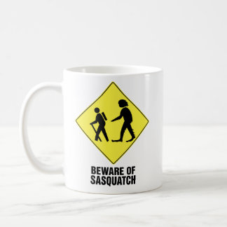 Beware of Sasquatch Coffee Mug