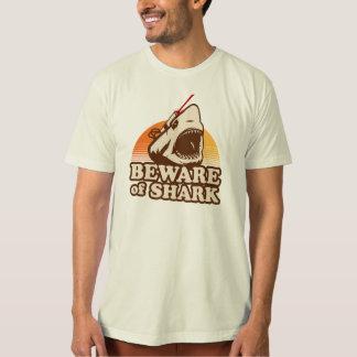 Beware of Sharks with Frickin' Laser Beams T-Shirt