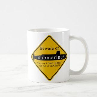 Beware of Submarines Coffee Mug