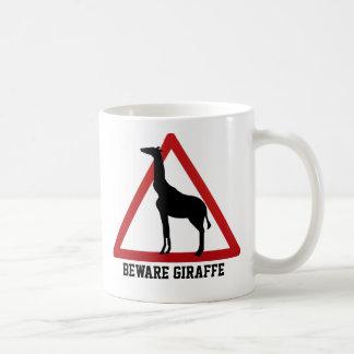 Beware Of The Giraffe Coffee Mug
